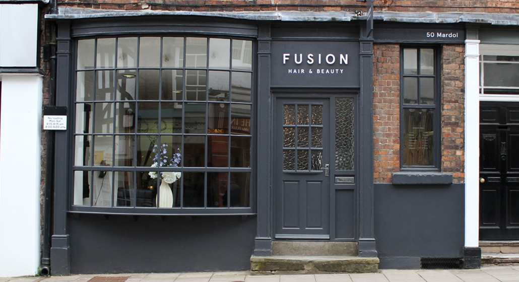 Contact us fusion hair beauty salon for Address beauty salon